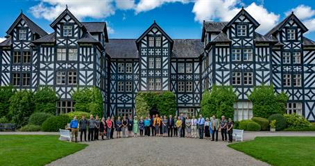Gregynog Press Photo Outside 1