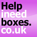 Help In Need Boxes Logo
