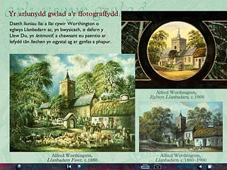 Screens from Visual Journeys: The Gentry and Rustic Painters : Yr arlunydd gwlad a'r ffotograffydd