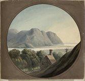 A view of north Wales from the extra-illustrated Tour in Wales, courtesy of NLW